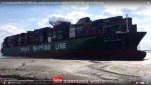 Containerschiff CSCL Jupiter