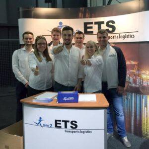 ETS-Blog - Welt der Logistik 2017 - unser Team