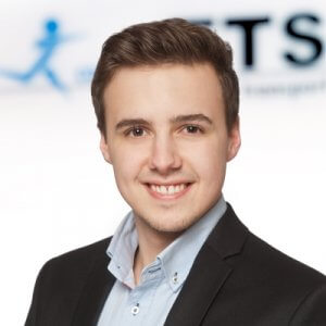 Photo shows Robin Lejeune Trainee ETS Transport & Logistics GmbH Bremen