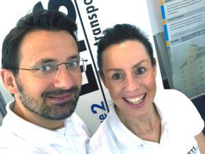 Foto zeigt ETS Mitarbeiterin und Mitarbeiter auf der LogiMAT 2019
