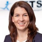 Photo shows Rieke Minak Manager ETS Transport & Logistics GmbH Bremen